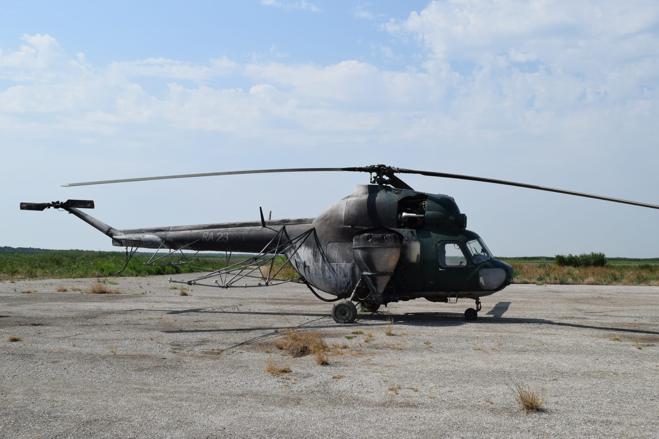 helicopter parts